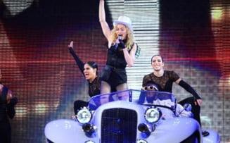 Vedetele autohtone, dezamagite de concertul Madonnei