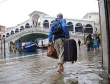 Venetia sub ape: Nivelul de alerta meteorologica a fost scazut usor