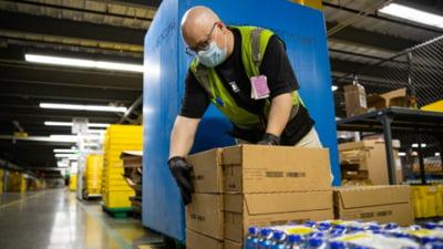 Veniturile si profitul Amazon au depasit estimarile in primul trimestru. Actiunile companiei au urcat cu 4%