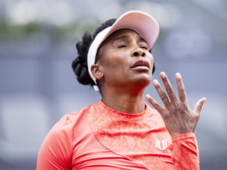 """Venus Williams, furioasa pe arbitru: """"Nu pot sa-l controlez pe Dumnezeu!"""" VIDEO"""