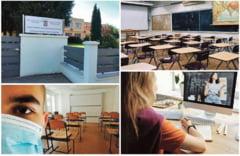 """Verde, galben sau rosu: ce culori """"imbraca"""" scolile covasnene din 14 septembrie?"""