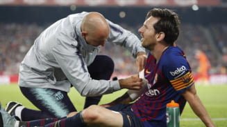 Verdict crunt pentru Leo Messi dupa accidentarea cu Sevilla. A suferit o fractura si va lipsi cel putin trei saptamani de pe gazon