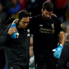 Verdict crunt pentru portarul celor de la Liverpool, dupa accidentarea stupida din prima etapa a Premier League