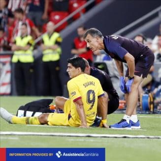 Verdict dur pentru Luis Suarez de la FC Barcelona dupa accidentarea din prima etapa a sezonului