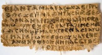 Verdictul academicienilor este uluitor: Papirusul privind sotia lui Iisus nu e fals