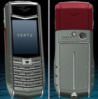 Vertu, telefonul de 100.000 de euro, lansat in Romania