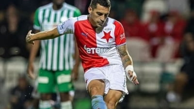 Veste minunată pentru selecționerul Rădoi. Nicolae Stanciu, primul gol după 5 luni pentru Slavia Praga. Cum a marcat românul