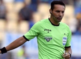 Veste neasteptata pentru Sebastian Coltescu. Centralul va arbitra marele derby al campionatului