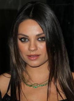 Veste proasta de la Mila Kunis
