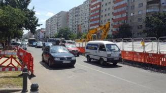 Vesti bune pentru soferii din Bucuresti: Traficul pe Stefan cel Mare revine la normal