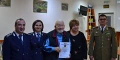 Veteran de razboi sarbatorit la implinirea a 95 de ani!