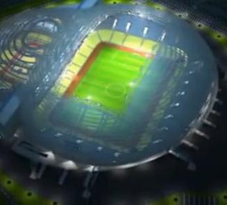 Vezi ce bijuterie de stadion se construieste pentru Steaua in Voluntari (Video)