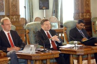 Vezi ce i-au spus reprezentantii FMI si BM presedintelui Basescu, la intalnire