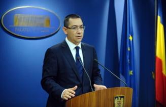 Vezi ce le-a scris Victor Ponta jurnalistilor straini din Romania