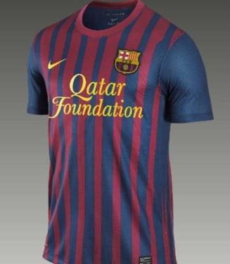 Vezi cum arata noile tricouri ale Barcelonei