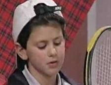 Vezi cum arata si ce spunea Djokovici despre tenis la 7 ani (Video)