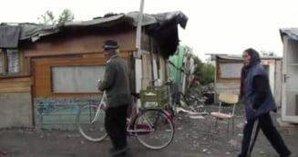 Viata grea a rromiilor romani de langa Torino - documentar in Italia (Video)