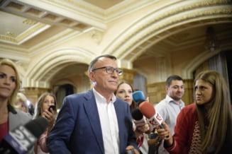 Vicepremierul Stanescu a mers in comisia de ancheta cu acuzatii la adresa sefului SPP, fara sa dea nume sau sa aduca dovezi