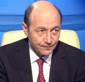 Victimizarea lui Traian Basescu