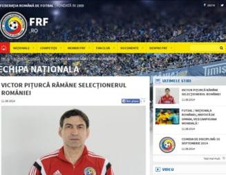 Victor Piturca ramane la nationala Romaniei: Anuntul facut joi de FRF