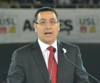 Victor Ponta: Adrian Nastase are locul lui in PSD