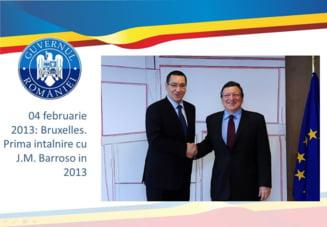 Victor Ponta: Am vrut sa sparg monopulul presedintelui Basescu pe relatiile externe
