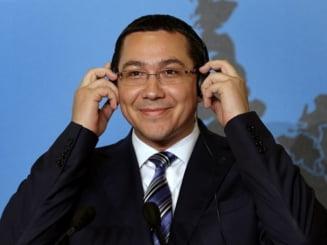 Victor Ponta: Asteptam de la STS asumarea responsabilitatii