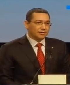 Victor Ponta: Cred in Dumnezeu, dar ma bucur pentru raul lui Basescu