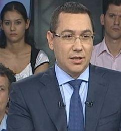 Victor Ponta: Daca revine Blaga la Senat, e de ras