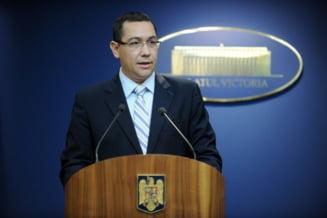 Victor Ponta: Decizia CCR de joi este una corecta, o vom respecta