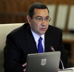 Victor Ponta: Eu nu citesc de pe prompter vise fiscal naive