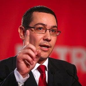 Victor Ponta: Imi este rusine ca avem un asemenea presedinte