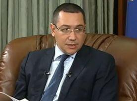 Victor Ponta: Lasul Basescu a dat licenta la Rosia Montana