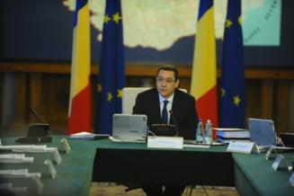 Victor Ponta: Ministerul Finantelor si Ministerul Educatiei vor fi reorganizate