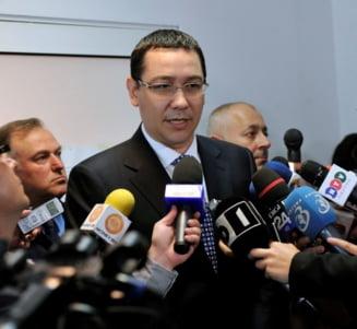 Victor Ponta: Niciodata nu primesti iertarea daca spui tot in comunicarea publica