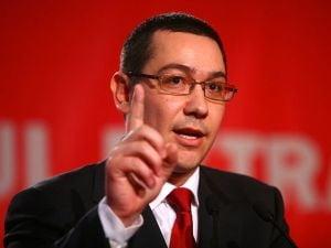 Victor Ponta: Nu ma cert cu Crin Antonescu, e o minciuna