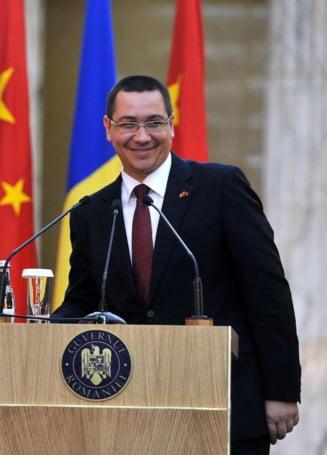 Victor Ponta: Partidul e strans unit in jurul meu. Vreau sa raman prim ministru