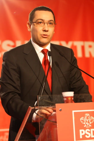 Victor Ponta: Pensionarii militari nu vor mai restitui statului banii incasati in 2011