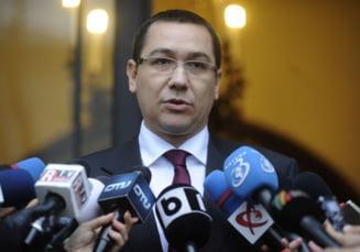Victor Ponta: Presedintele Traian Basescu iese ca cucul, la 18.30, sa faca scandal