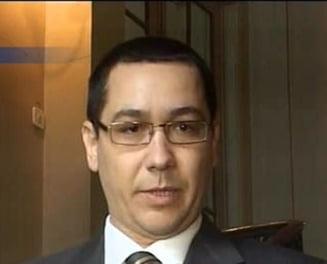 Victor Ponta: Sper sa fiu solutia care sa impace toate lucrurile