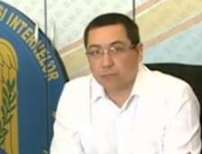 Victor Ponta, despre inundatii: Imi pare cumplit de rau ca in fiecare an avem tribut de vieti omenesti