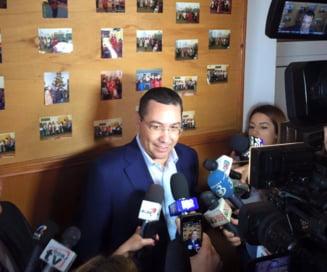 Victor Ponta, la ICCJ: Sper sa nu aveti timp de mine azi