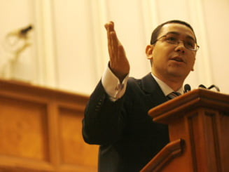 Victor Ponta, ministru interimar la Justitie (Video)
