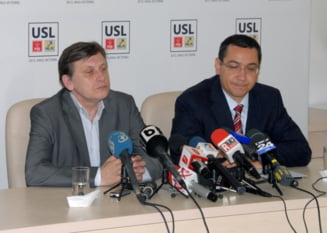 Victor Ponta, un pas inapoi. Crin Antonescu, ofensiva totala (Opinii)