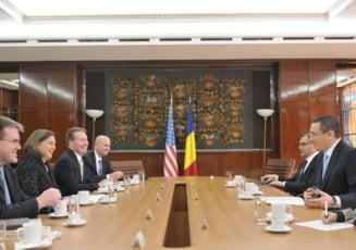 Victor Ponta a discutat cu Victoria Nuland: Guvernul s-a angajat sa lupte impotriva coruptiei