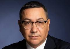 Victor Ponta a prezentat un sondaj potrivit caruia PMP nu va intra in Parlament, iar USR va lua 17 %