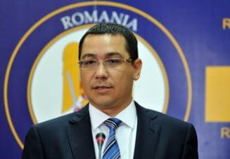 Victor Ponta pleaca, luni, in Republica Moldova