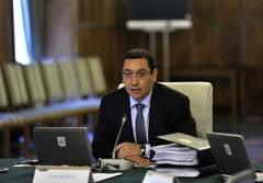 Victor Ponta prezinta in Parlament noul acord cu FMI