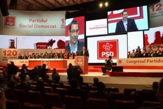 Victor Ponta ramane presedintele PSD, dupa un Congres fara emotii, dar cu sala goala