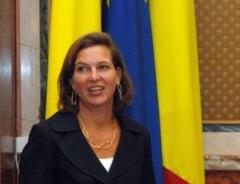Victoria Nuland vine in Romania - Intalnire cu Iohannis